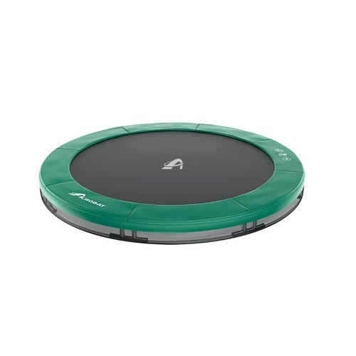 trampolina ORBIT Inground 244 cm tmavozelena 02