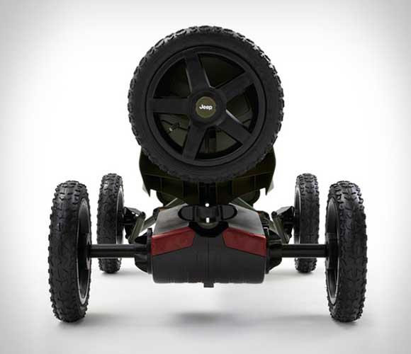 Jeep Adventure pedal go kart 03