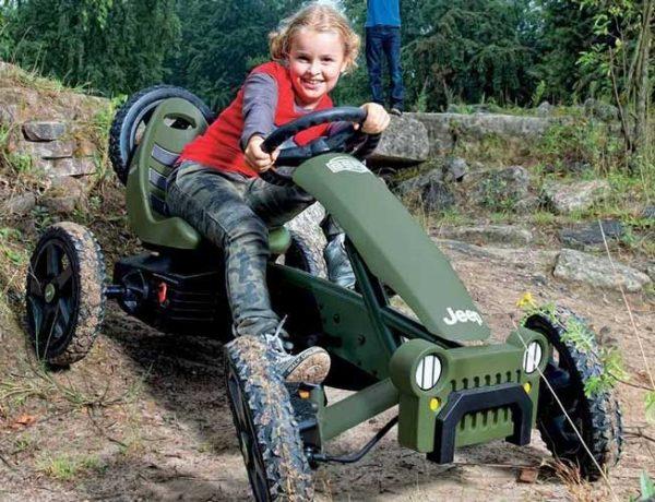 Jeep Adventure pedal go kart 04