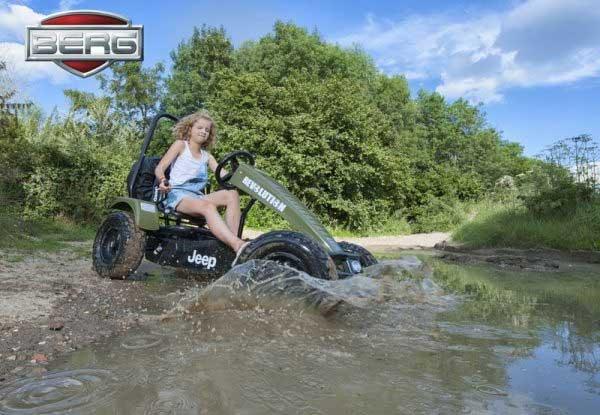 BERG Jeep® Revolution pedal go kart XXL BFR 04