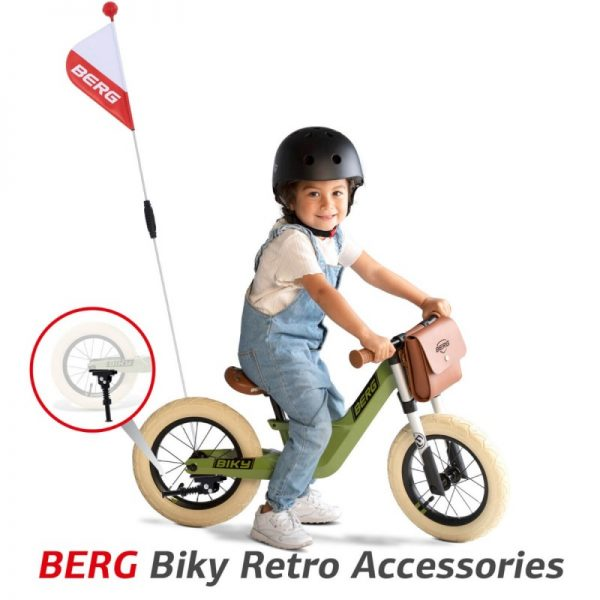 berg biky retro green 3