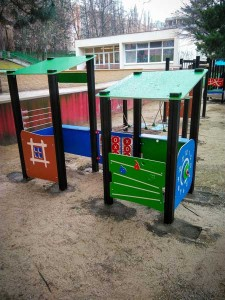Tel-A-wiew: Detské prvky Karlova Ves, BA